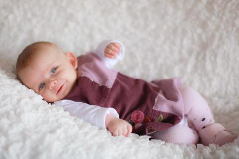Baby E smile